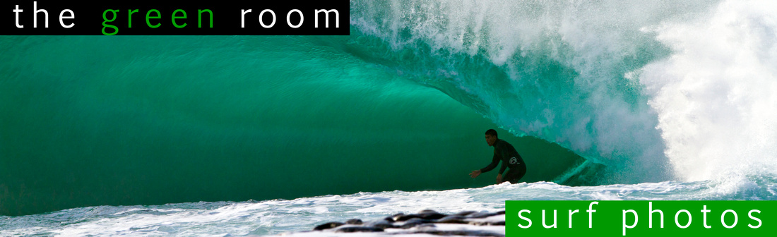 the green room - surf photos